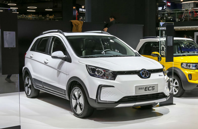BAIC All-Electric EC5 Starts to Pre-sale At 110,000 yuan