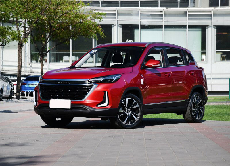 BAIC Senova Zhida X3 Is Almost Ready in China Market