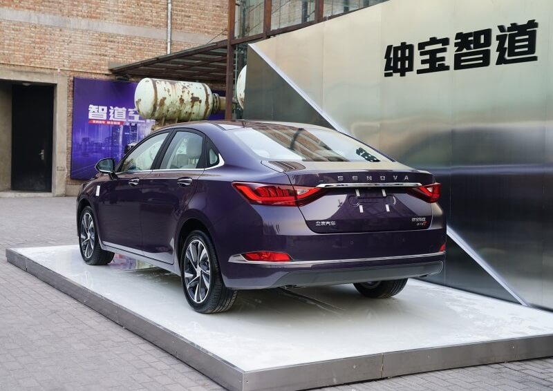 "BAIC SENOVA Zhidao Changed Its Name to ""Zhidao U7"""