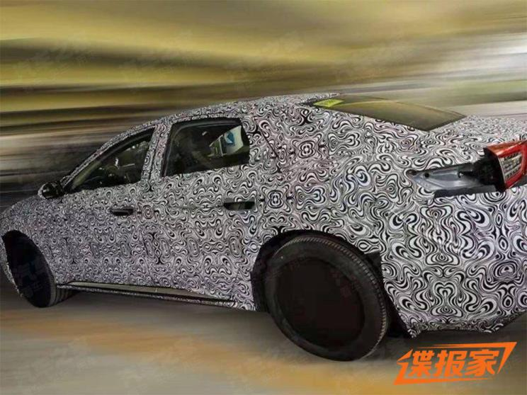 This Might be The First Picture of BYD Han, Spy Photos of BYD's New Mid-Sized Car