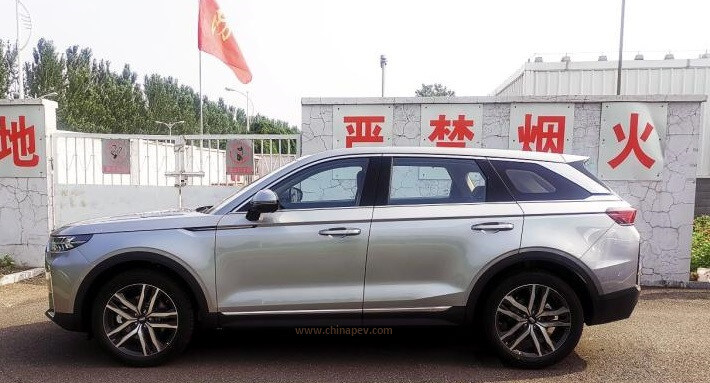 Spy Shots of FAW Bestune T99 Real Car Photos Revealed By China Medias
