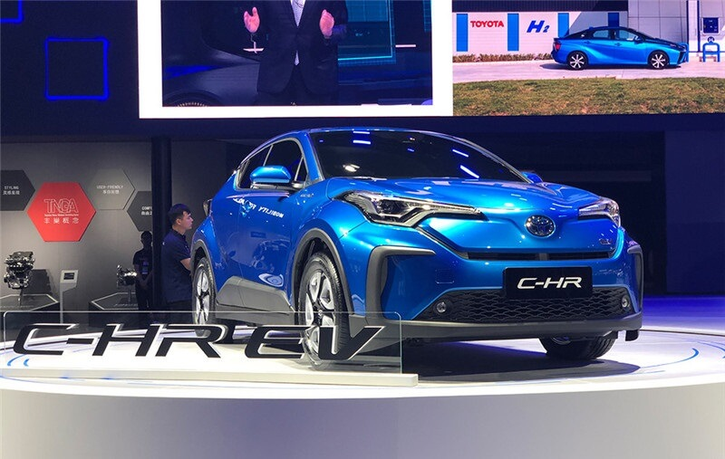 GAC-Toyota C-HR Pure Electric Version Is coming in China Market, To List in 2020