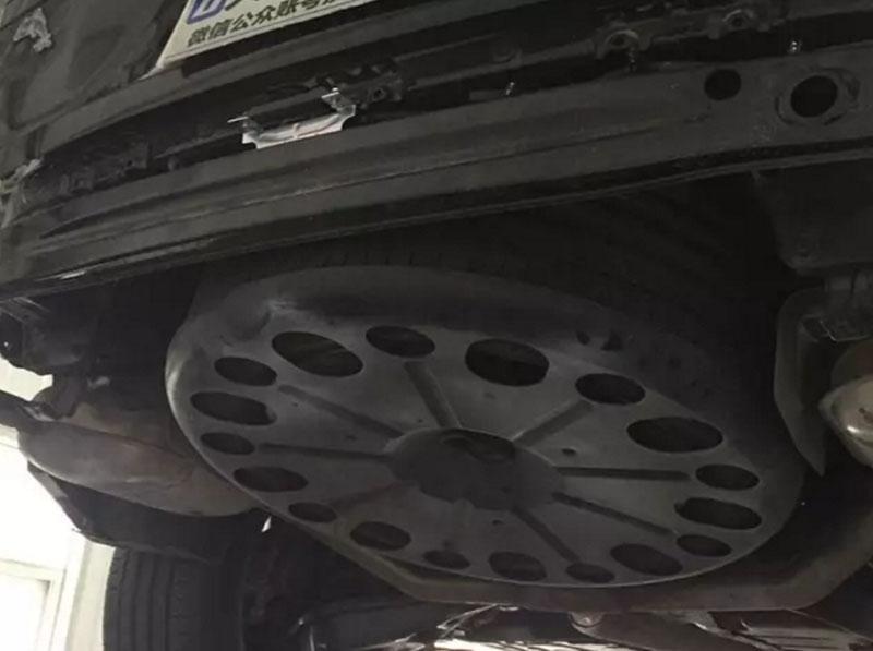 GAC Trumpchi GS8 Review – Front & Rear Crash Beam Teardown