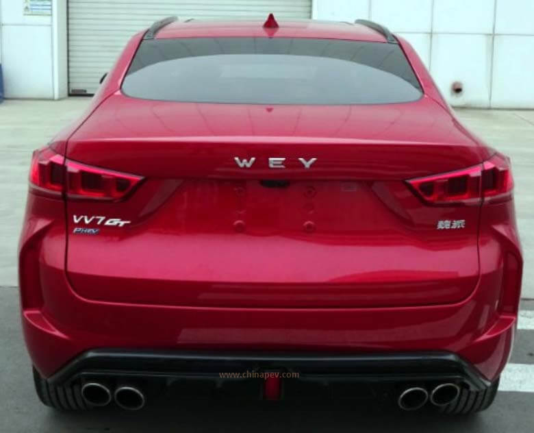 WEY VV7 GT Positioning Sports Coupe SUV To Debut in 2nd Half of 2019