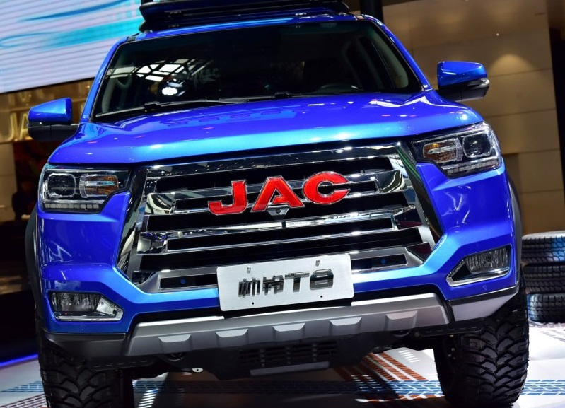 JAC T8 Won 2019 China Best Intelligent Internet Pickup Award