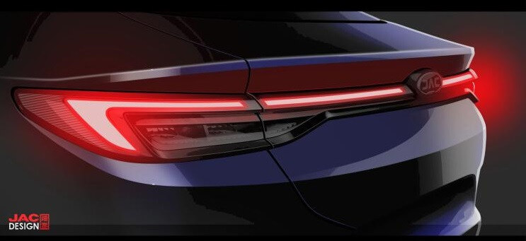 Teaser Images of JAC-VW's First Sedan A432