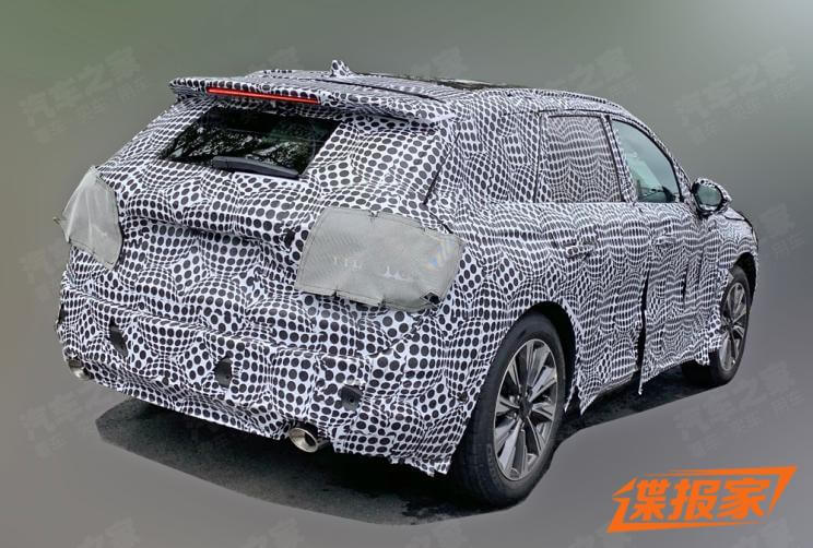Lincoln Corsair China Version Spy Photos Exposed, To be Launched by 2019