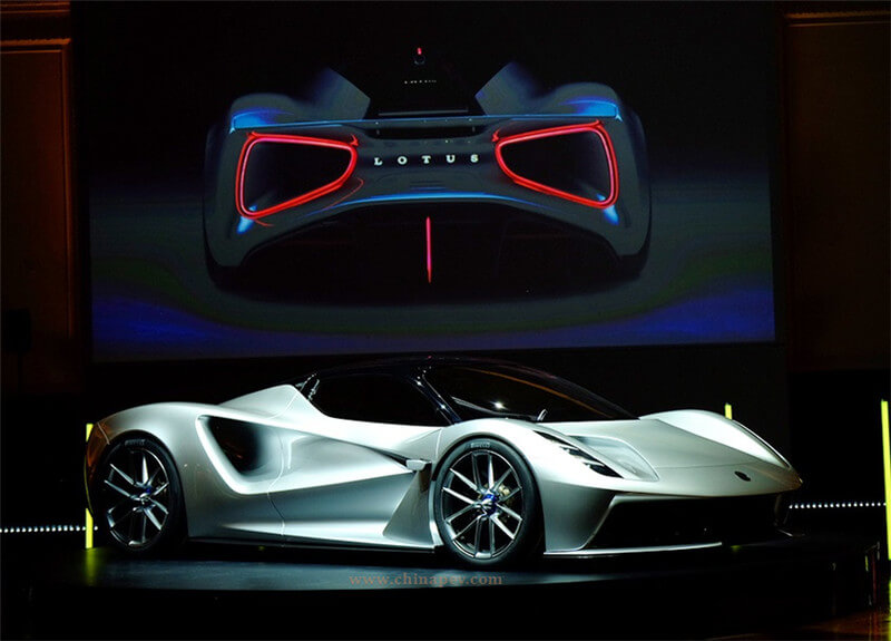 Lotus' All-Electric Supercar Evija Released, 2000hp, 0-100km/h in 3s, Top Speed 320km/h
