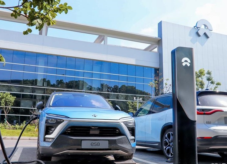 105kW NIO Power Charger Opens Trial Operation in Suzhou China
