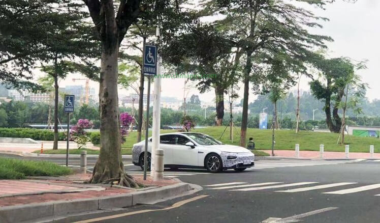 Xpeng P7 Road Test Photos Exposed in Guangzhou, To be Delivered in the 2nd Quarter of 2020