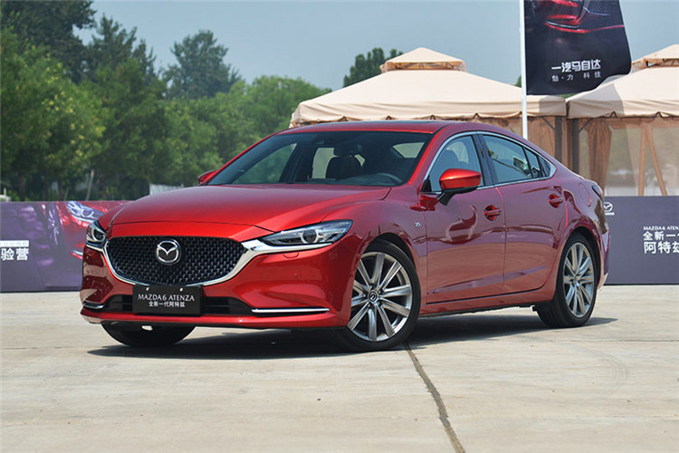 "2019 ""All-New"" Mazda 6 Atenza Launched in China Market, Powered by 2.0L/2.5L Aspirated Engines"
