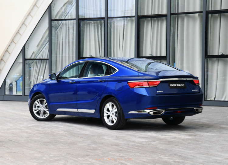 2020 Geely Borui GE Is Ready In China Market