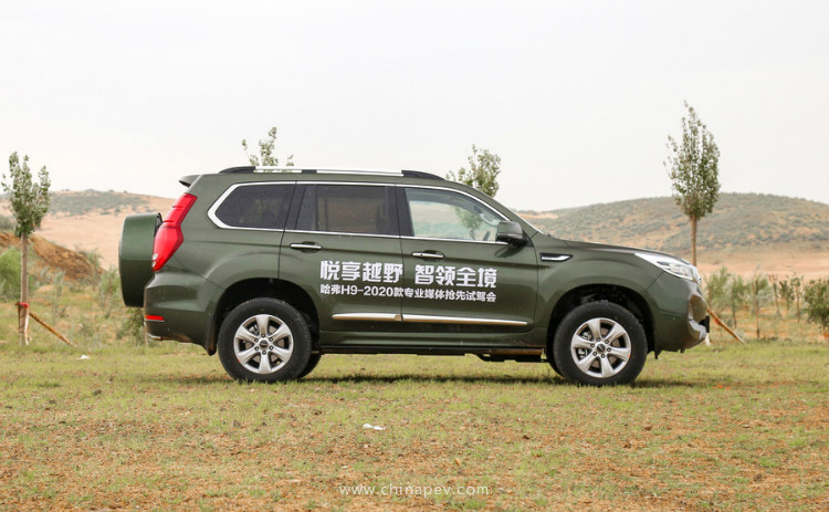 GWM's Flagship SUV: 2020 Facelift Haval H9 Listed in China, Featuring Tank Turn & Crawl Control