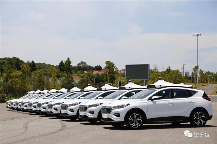 Baidu Unmanned Taxi Tests in Changsha: Apollo Technology, FAW-Hongqi Vehicle Team
