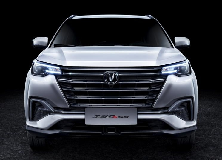 Teaser Images of Changan CS55 Facelift, Features Twin-Screen