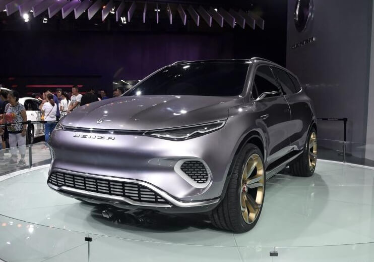 Spied! Daimler's New EV in China, The Concept X from Denza