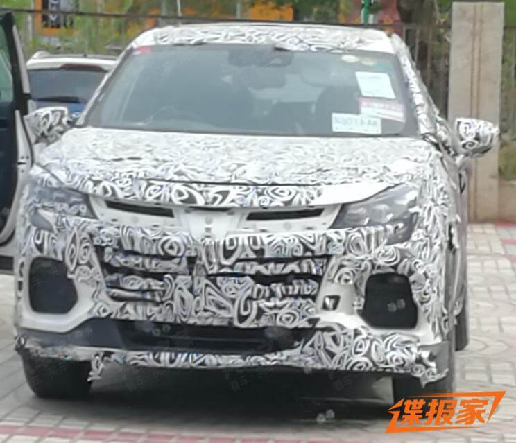 Spy Photos of Dongfeng-Yulon Luxgen's New SUV Exposed, or a Coupe SUV