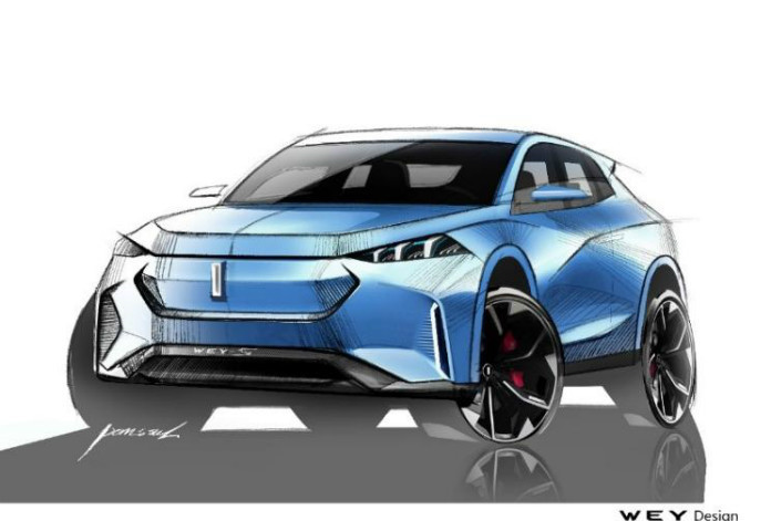 "Great Wall Motors' WEY Brand To Debut A New Concept Car ""WEY-S "" at 2019 Frankfurt Motor Show"