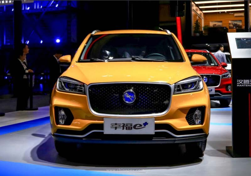 Hanteng Auto's First Pure EV, the Xingfu e+ Is Ready in China Market