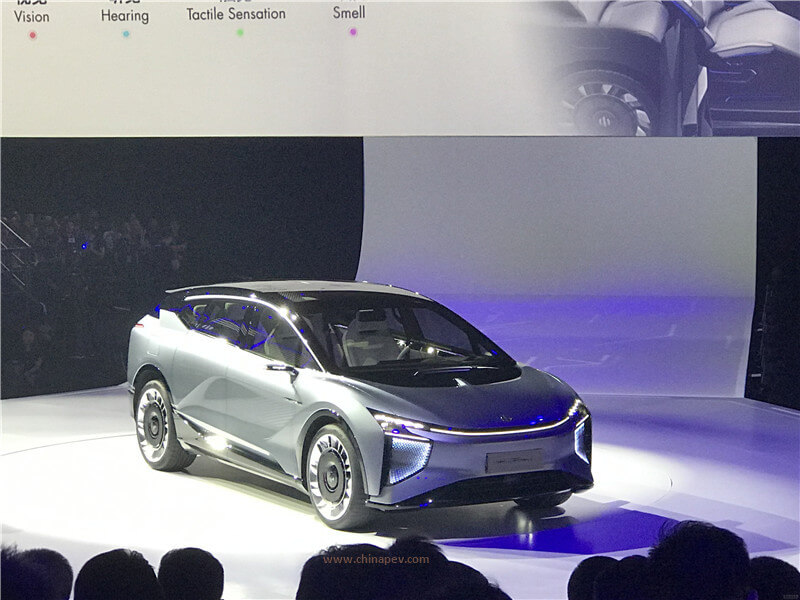 China EV Startup Human Horizons Released High-End EV Brand HiPhi and HiPhi 1 - The First Production-Ready Pure EV
