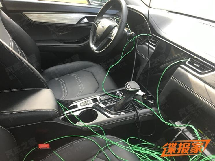 JAC's New Sedan A432's Interior Spied for Real
