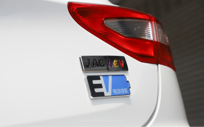 JAC New Energy Launched JAC iEV7S 70th Anniversary Edition With Range of 249miles