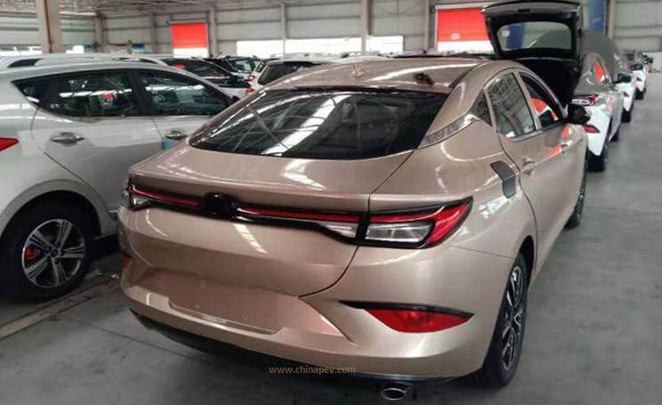 Real Shot Photos of JAC's New Sedan A432