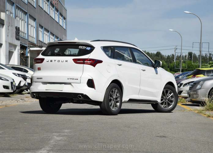 Chery's High-end Brand JETOUR Received a Facelift for JETOUR X70