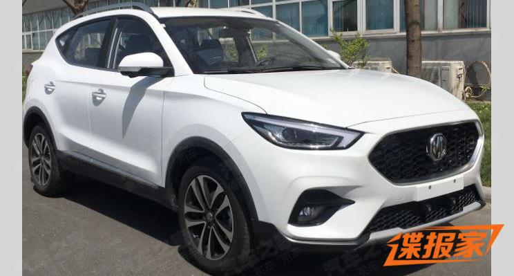 Real Shot of MG ZS Facelift, To Be be Powered by 1.3T, Feature L2 Autopilot