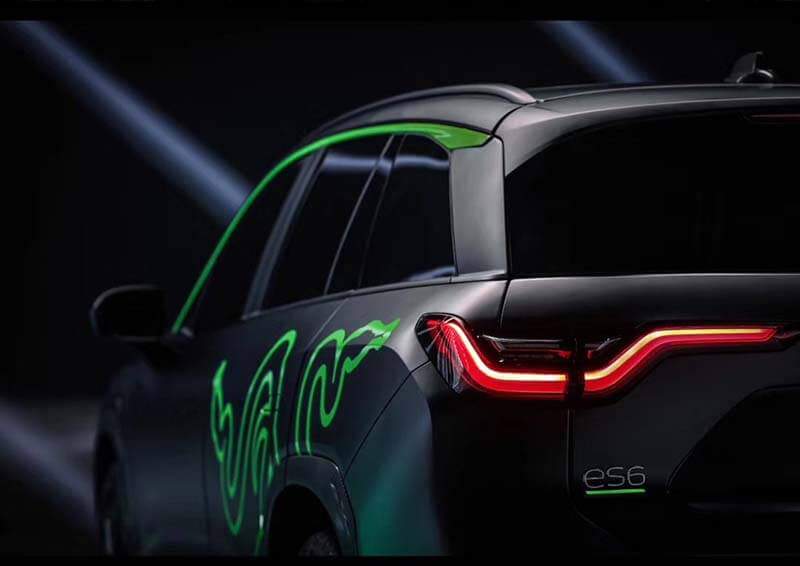 NIO and Razer Jointly Launched ES6 Night Explorer Limited Edition