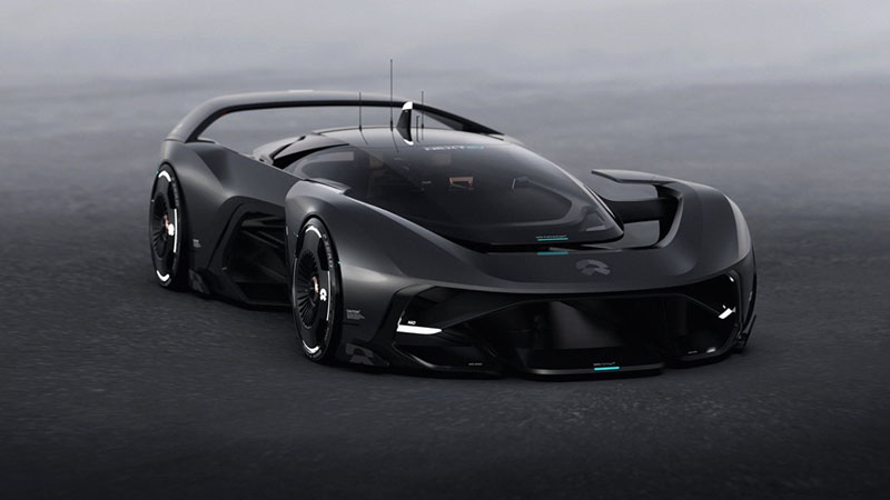 NIO Vision GT Concept Car Exposed by Social Media