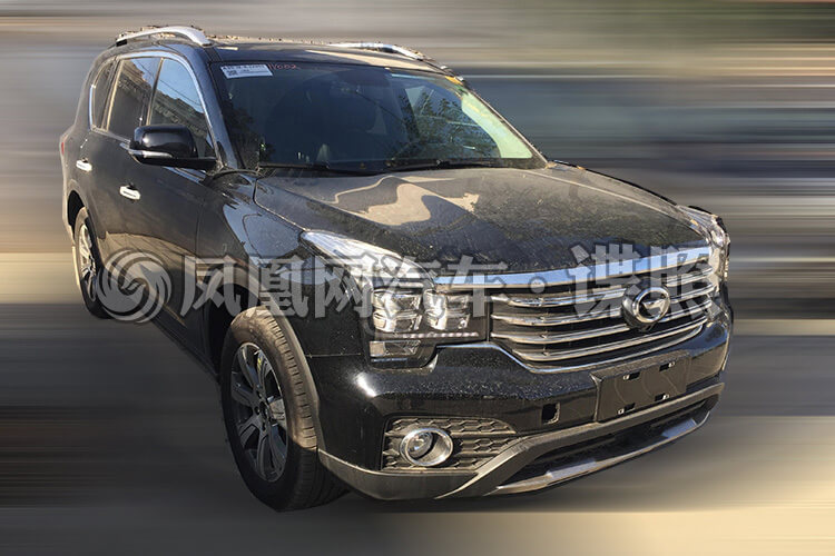 GAC Trumpchi GS7 Will Soon Receive A Facelift, Featuring an Electronic Gear Lever