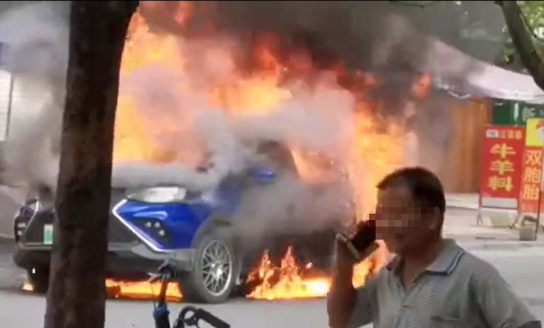 New Energy Vehicle Spontaneous Combustion Incidents Occur Frequently, Yudo π3 Self-burned in China