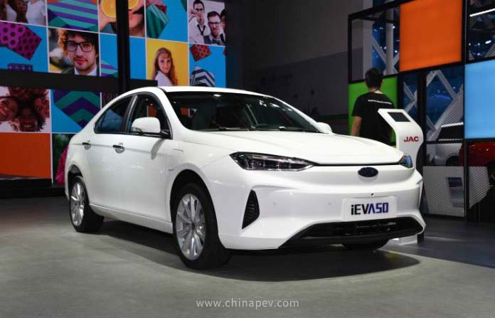 JAC's Compact EV iEVA50 Received a Facelift in 2019 Chengdu Motor Show
