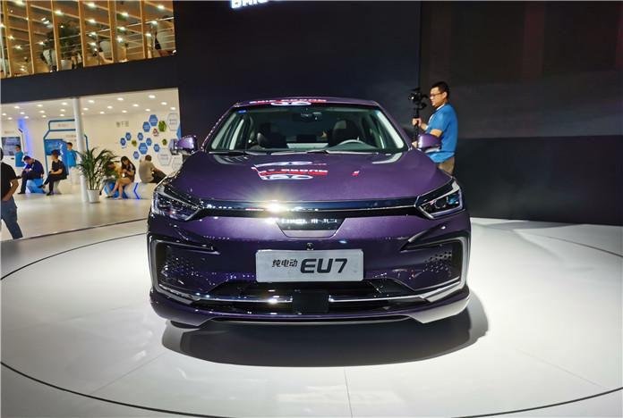BAIC New Energy EU7 Debuted At 2019 Chengdu Motor Show