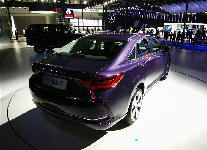 BAIC New Energy EU7 Debuted At 2019 Chengdu Motor Show
