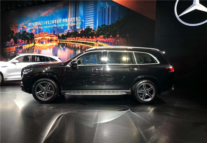 This is New-Gen Benz GLS Debut on 2019 Chengdu Motor Show