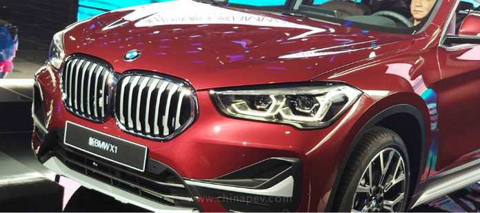 BMW-Brilliance Debut BMW X1 Facelift and BMW X1 PHEV China Version at 2019 Chengdu Auto Show