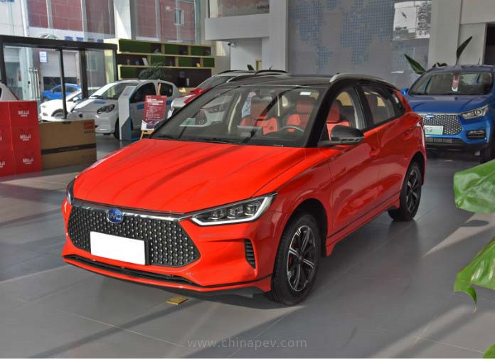 BYD's New EV BYD e2 Is Ready in China Market