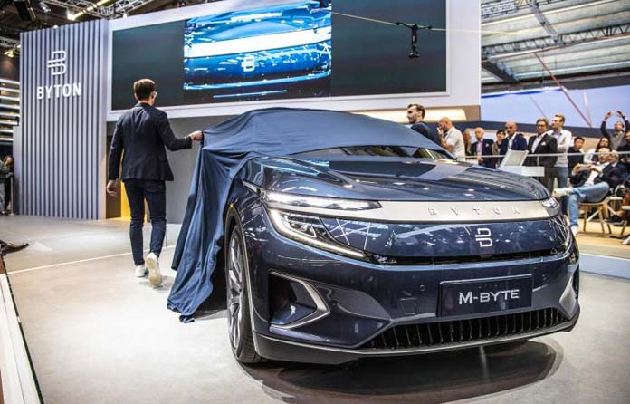BYTON to come back by a new company named Shengteng Auto in China