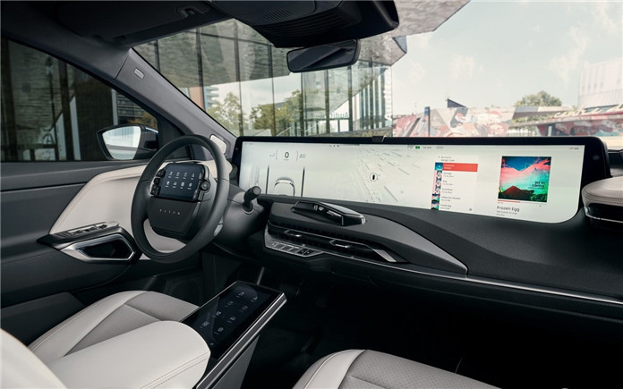 BYTON M-Byte Production Version Debut at Frankfurt Motor Show with 48-inch Huge Screen / battery Range 341miles