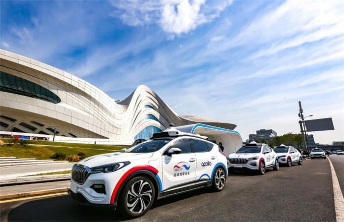 Baidu Apollo Self-Driving Vehicle Goes Commercial Opeartion in Changsha China