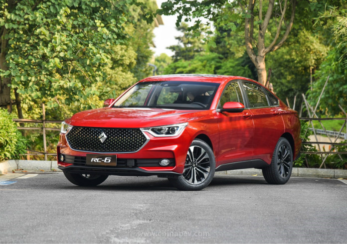 2019 Baojun RC-6 Technical Specs
