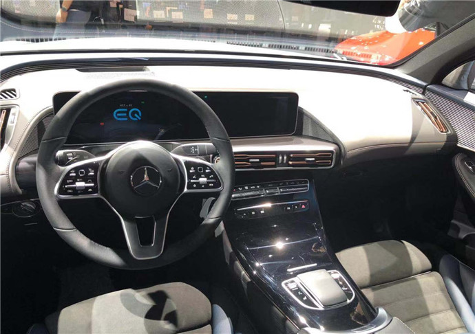 Mercedes-Benz EQC China Version Debuted At 2019 Chengdu Motor Show