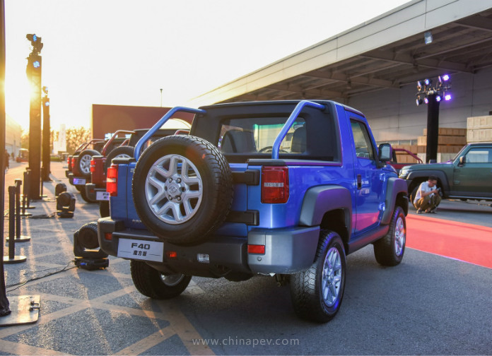 Beijing F40 Pickup is Ready in Chinese Market, This is the First Pickup from BAIC