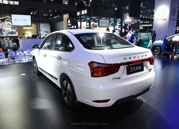 Dongfeng Fengshen (Aeolus) E70 Launched in 2019 Chengdu Motor Show