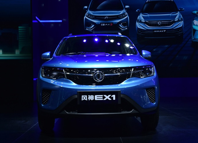 Renault City K-ZE Has a Sibling: Rebarged Dongfeng Fengshen EX1 Debut on 2019 Chengdu Auto Show
