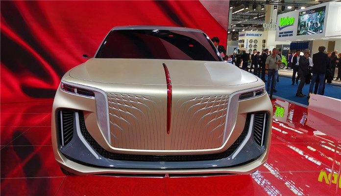 FAW Hongqi Debuted a Concept SUV on 2019 Frankfurt Motor Show