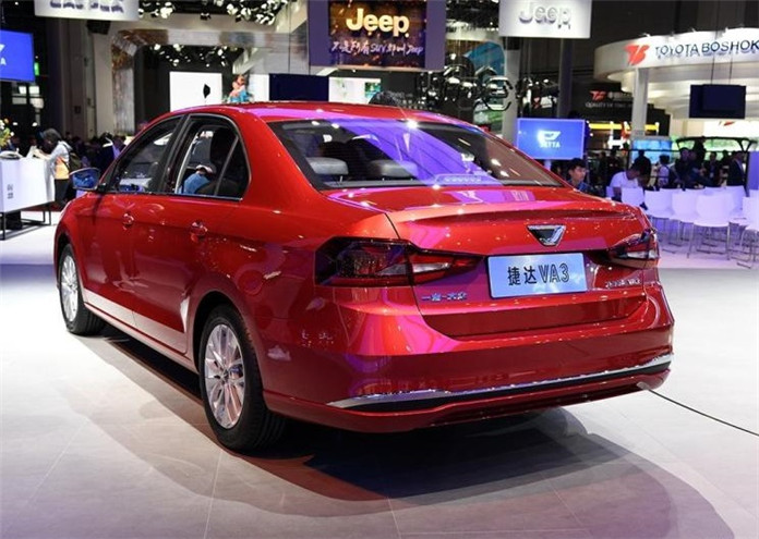 "Jetta's First Sedan JETTA VA3 Launched in Chinese Market After the Brand ""independence"""
