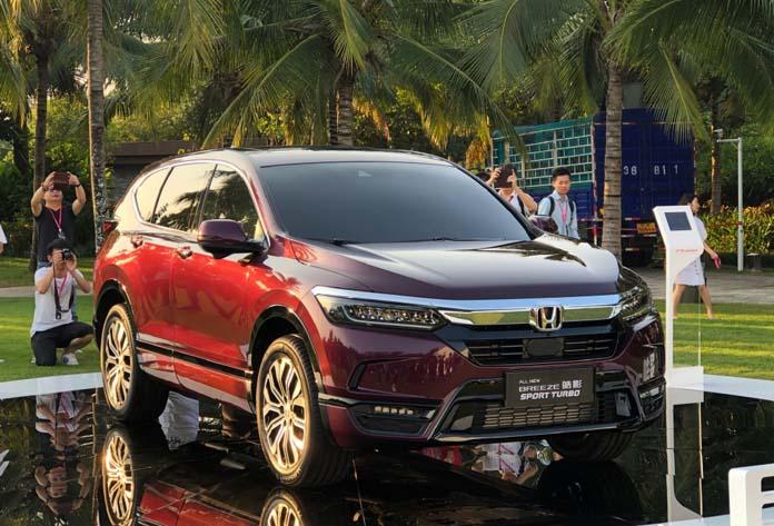 Honda CR-V's Sibling, GAC-Honda BREEZE Made Its Debut in Chinese Market